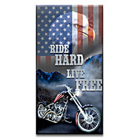 Freedom Of The Open Road Wall Decor