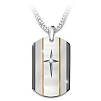 God Is Near Pendant Necklace