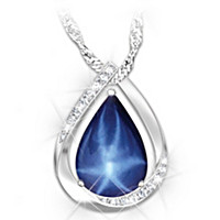 Heavenly Light Pendant Necklace