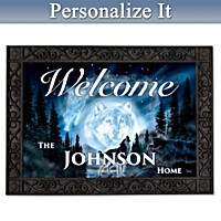 Call Of The Wilderness Personalized Welcome Mat