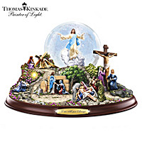 Thomas Kinkade The Life Of Christ Water Globe