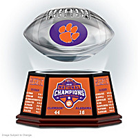 Clemson Tigers 2018 Football National Champions Sculpture