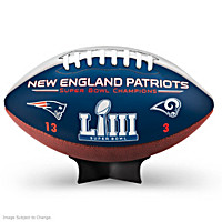 New England Patriots Super Bowl LIII Champions Football