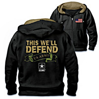 Proud To Protect U.S. Army Men\'s Hoodie