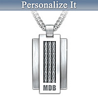 Strength Within Personalized Pendant Necklace