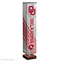 University Of Oklahoma Sooners Floor Lamp