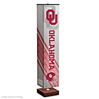 University Of Oklahoma Sooners Floor Lamp