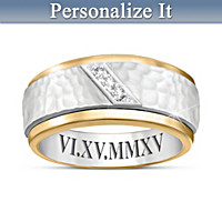 Classic Romance Personalized Diamond Ring