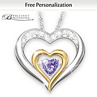 Forever Loved Personalized Pendant Necklace