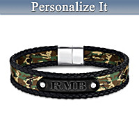 Forge Your Own Path Personalized Men's Bracelet