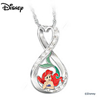Disney Forever Ariel Pendant Necklace