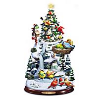 Festive Feathered Friends Christmas Tree