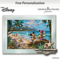 Disney Thomas Kinkade Sunshine Fun Personalized Wall Decor