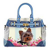 Playful Pup Yorkie Handbag