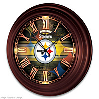 Pittsburgh Steelers Wall Clock