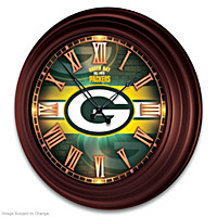 Green Bay Packers Wall Clock