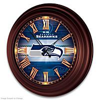 Seattle Seahawks Wall Clock