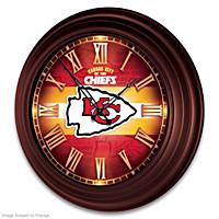 Kansas City Chiefs Wall Clock