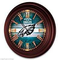 Philadelphia Eagles Wall Clock