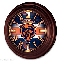 Chicago Bears Wall Clock