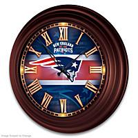 New England Patriots Wall Clock