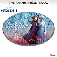 Disney FROZEN 2 Personalized Wall Decor