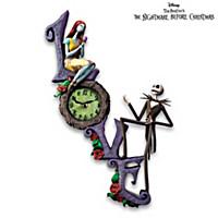Disney Tim Burton's The Nightmare Before Christmas Clock