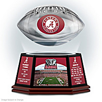 University Of Alabama Levitating Football Sculpture