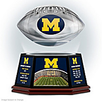 University Of Michigan Levitating Football Sculpture