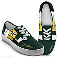 NFL Patchwork Packers Women\'s Shoes