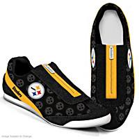 In It To Win It Steelers Women\'s Shoes