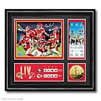 Kansas City Chiefs Super Bowl LIV Wall Decor