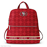 San Francisco 49ers NFL Backpack