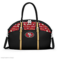 San Francisco 49ers Ultimate Fan NFL Handbag