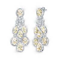 Dazzling Duchess Earrings