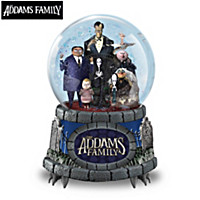 THE ADDAMS FAMILY Glitter Globe