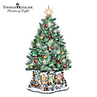 Thomas Kinkade Holiday Village Christmas Tree