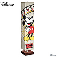 Disney Mickey Mouse Through The Years Floor Lamp