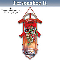 Warm Holiday Traditions Personalized Wall Decor