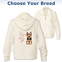 Life Is Better With A Dog Women\'s Hoodie
