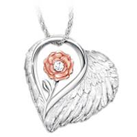 Forever Loved Diamond Pendant Necklace