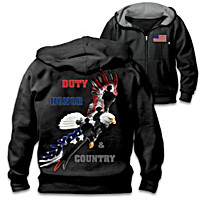 Duty, Honor & Country Men\'s Hoodie