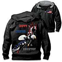 Duty, Honor & Country Men\'s Hoodie