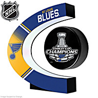 Blues® 2019 Stanley Cup® Levitating Puck Sculpture