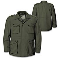 John Wayne American Legend Military Field Men\'s Jacket
