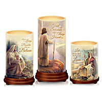 Pillars Of Faith Candle Set