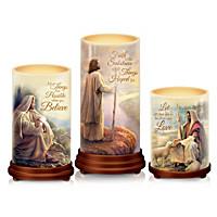 Pillars Of Faith Candle Set