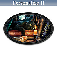 The Witching Hour Personalized Framed Collector Plate