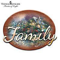 Thomas Kinkade The Gift Of Family Wall Decor