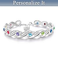 Forever & Always Personalized Bracelet